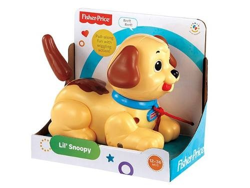 H9447 Fisher Price Fisher Price Infant Brilliant Basic Snoopy Restage Snoopy sunītis