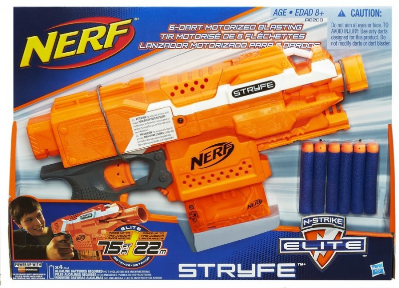 A0200-A Hasbro NEW 2015 Nerf Elite N-Strike Бластер Элит Страйф