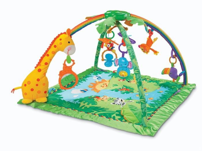 K4562 Fisher Price Rainforest Gym mazuļu aktīvais centrs