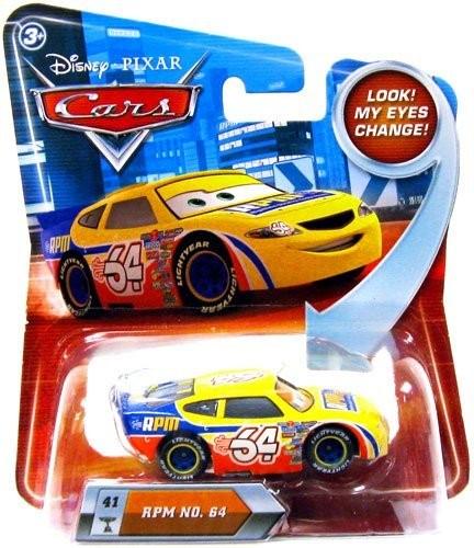 Mattel R1414 Disney Cars RPM Nr 64 машинка из фильма Тачки